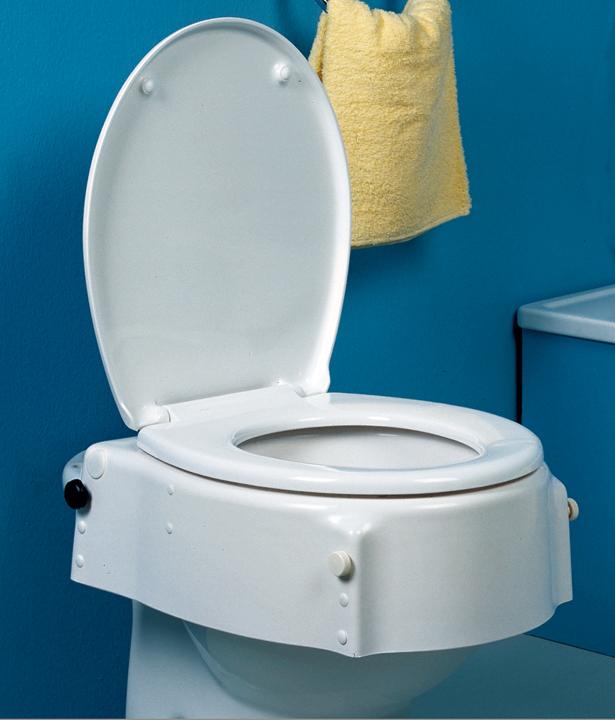Elevadores de w c regulables en altura e inclinaci n for Elevador taza wc