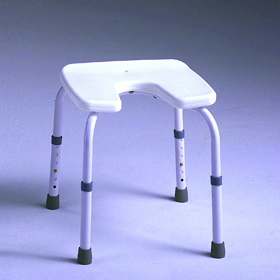 Taburete samba con asiento en u ortopedia geriayuda - Asientos para taburetes ...