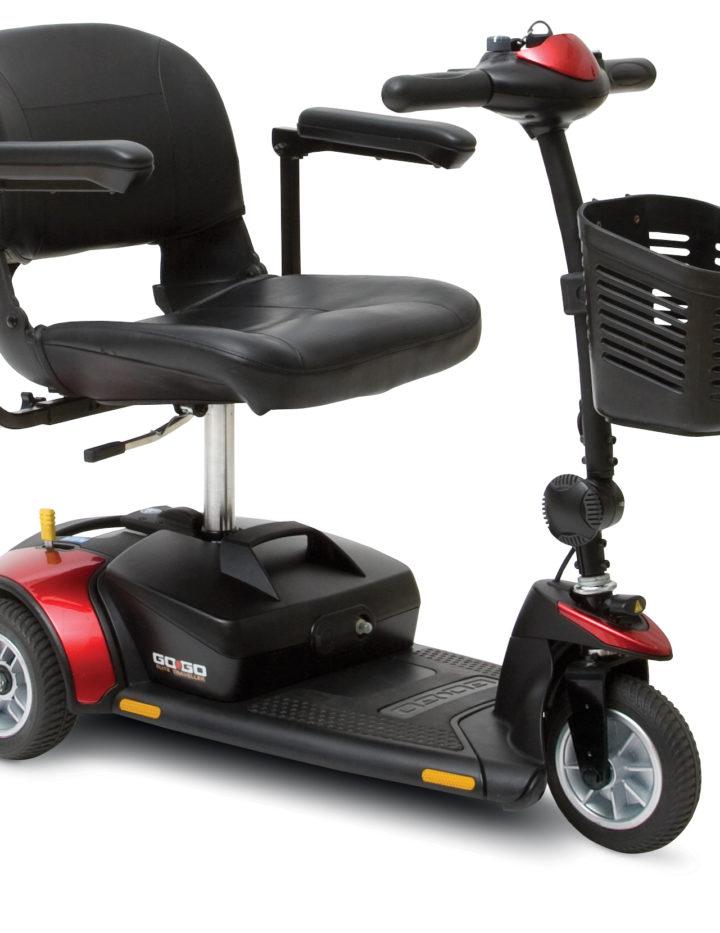 Scooters categor as de los productos ortopedia geriayuda for Portatil desmontable