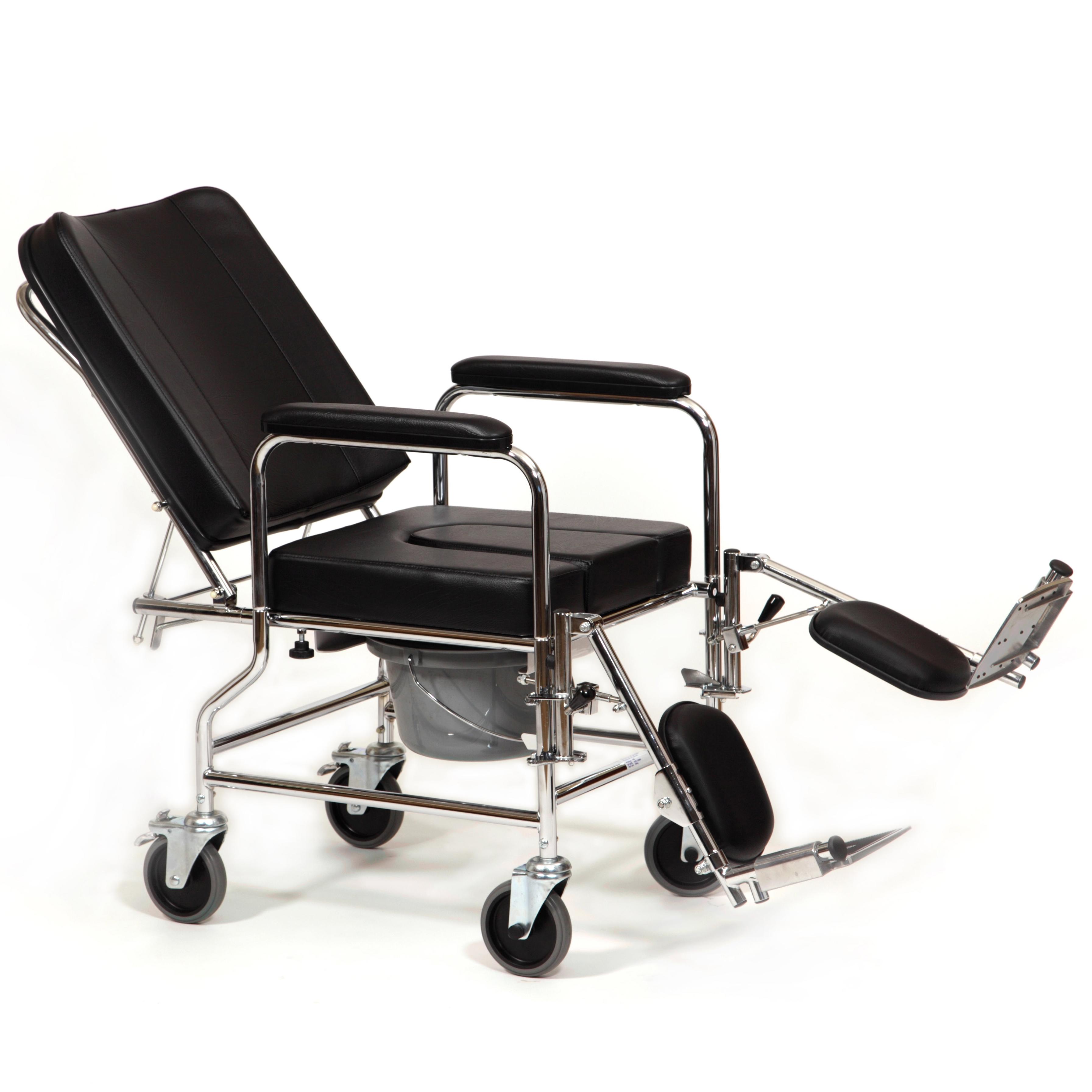 Silla de interior reclinable geriayuda for Sillas con respaldo