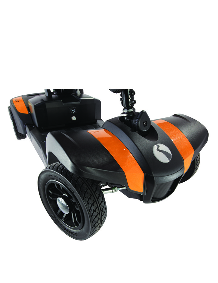 Scooter desmontable y port til veo ortopedia geriayuda for Portatil desmontable