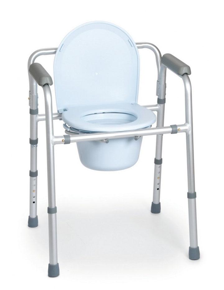 Silla wc 4 funciones en 1 ortopedia geriayuda for Sillas para water