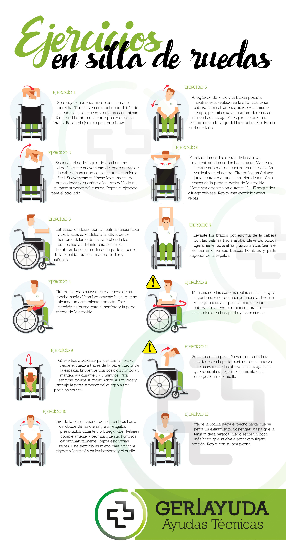 Ejercicios para personas en silla de ruedas