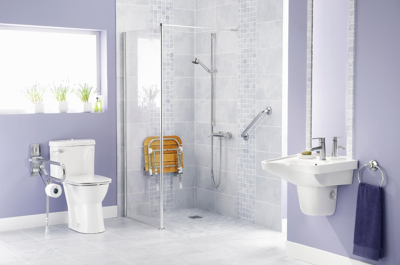 como adaptar un baño para personas con discapacidad